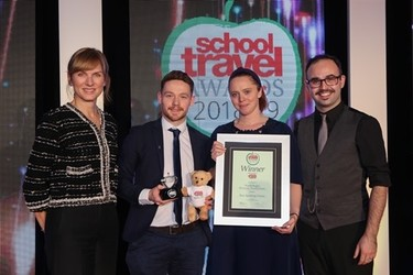 Our Museum wins Best Sporting Venue at the School Travel Awards